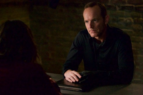 "MARVEL'S AGENTS OF S.H.I.E.L.D. - ""Closure"" - Ward's campaign for revenge brings the S.H.I.E.L.D. team to their knees, and Coulson proves he will do anything to settle the score, on ""Marvel's Agents of S.H.I.E.L.D.,"" TUESDAY, DECEMBER 1 (9:00-10:00 p.m., ET) on the ABC Television Network. (ABC/Greg Gayne) CLARK GREGG"