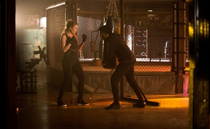 """The Originals -- """"An Old Friend Calls"""" -- Image Number: OG315a_0257.jpg -- Pictured (L-R): Leah Pipes as Cami and Yusuf Gatewood as Vincent -- Photo: Bob Mahoney/The CW -- © 2016 The CW Network, LLC. All rights reserved."""