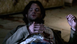 1-Supernatural-SPN-Season-Eleven-Episode-Seventeen-S11E17-Red-Meat-Sam-Winchester-Jared-Padalecki-shot