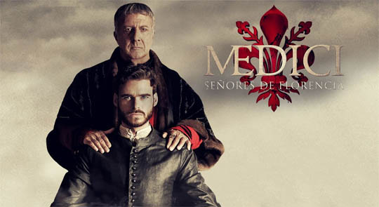 Los Medici, señores de Florencia (Serie de TV) - portada, poster