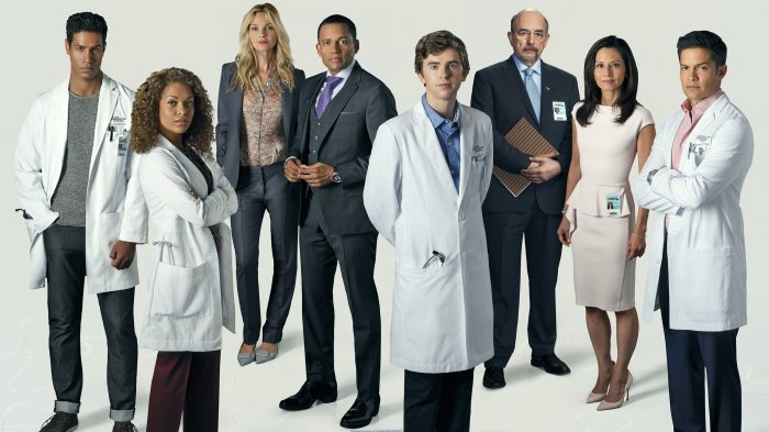 the good doctor elenco